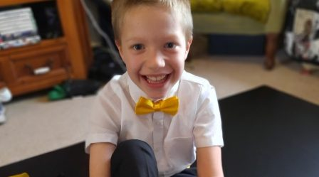 George's fundraising story