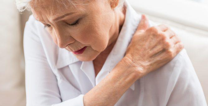 Back or shoulder pain